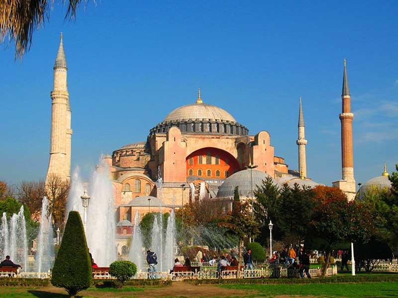 что посмотреть в Стамбуле за 1 день - Айя София
