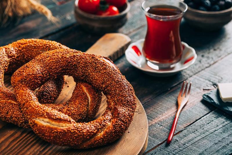 что попробовать с Турции из еды - Симит